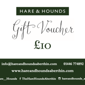 Hare and Hounds gift voucher